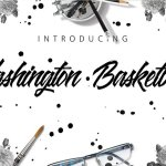 Washington Basketball Font Free