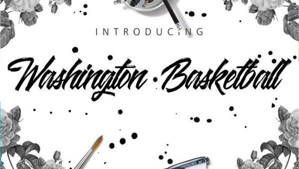 Washington Basketball Font Free