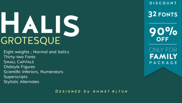 Halis Grotesque Font Free Download