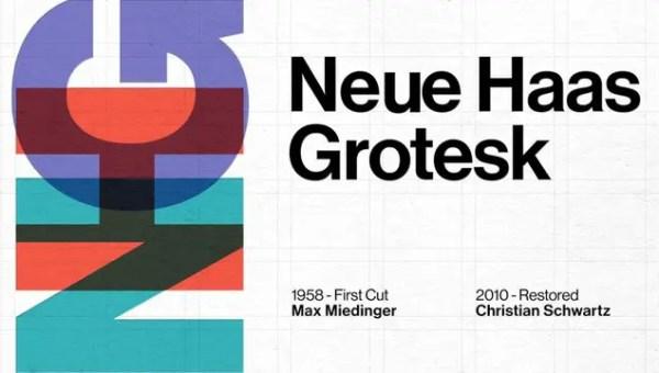 Neue Haas Grotesk Font Free