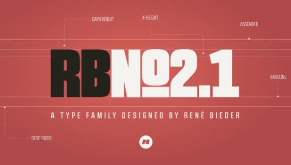 RBNo2.1 & RBNo3.1 Font Free