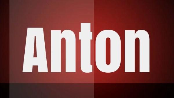 Anton Font Free