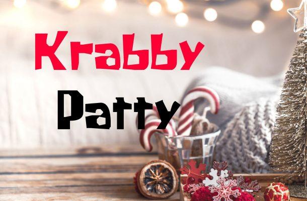 Krabby Patty Font