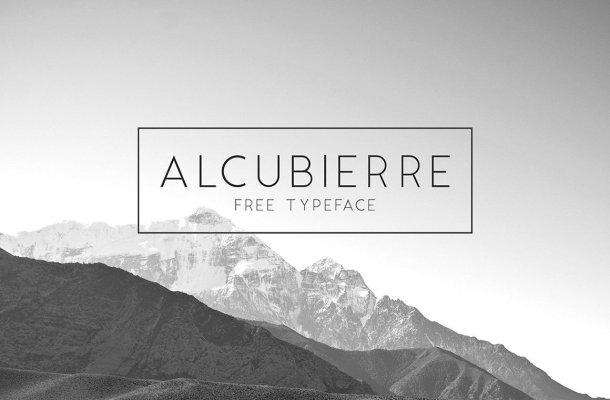 Alcubierre Typeface Free