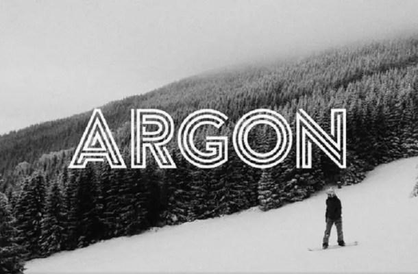 Argon font Free