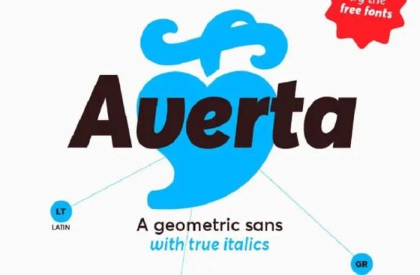 Averta Font Free