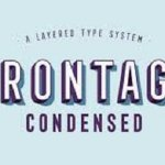 Frontage Condensed Font Family Free