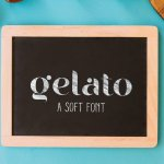 Gelato Soft Typeface Free