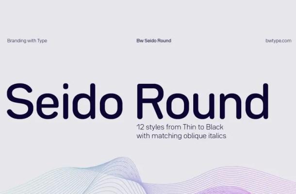 Seido Round Font Family Free