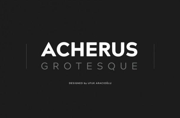 Acherus Grotesque Font Family Free