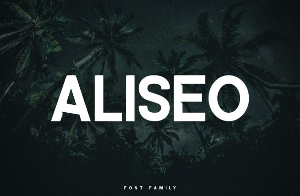 Aliseo Font Family Free