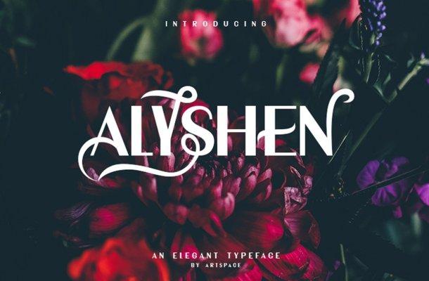 ALYSHEN Typeface Free