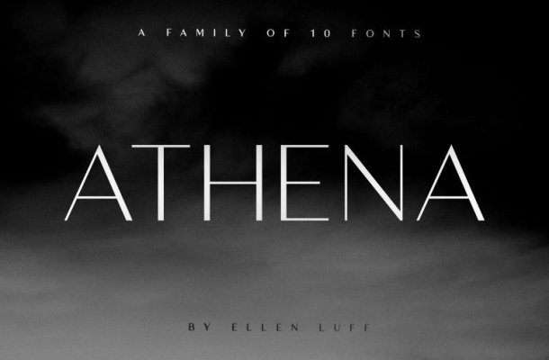 Athena Sans Serif Font Free
