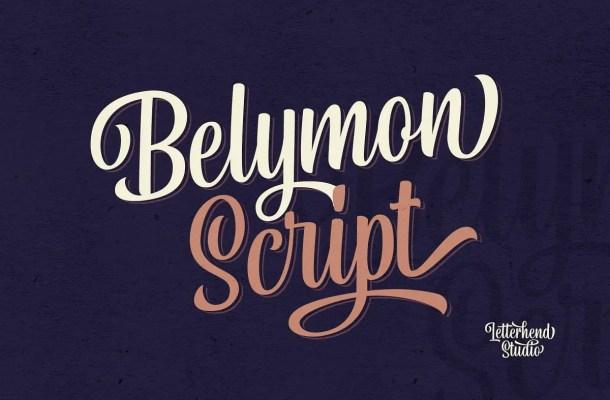 Belymon Script Font Free