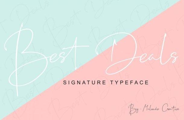 Best Deals Script Font Free