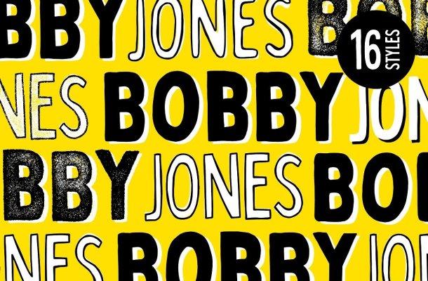 Bobby Jones Font Family Free