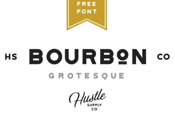 Bourbon Grotesque Font Free