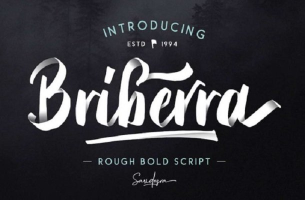 Briberra Script Font Free