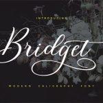 Bridget Script Font Free