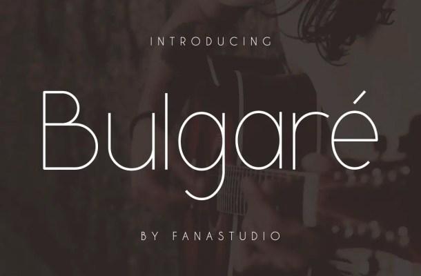 Bulgare Sans Font Free