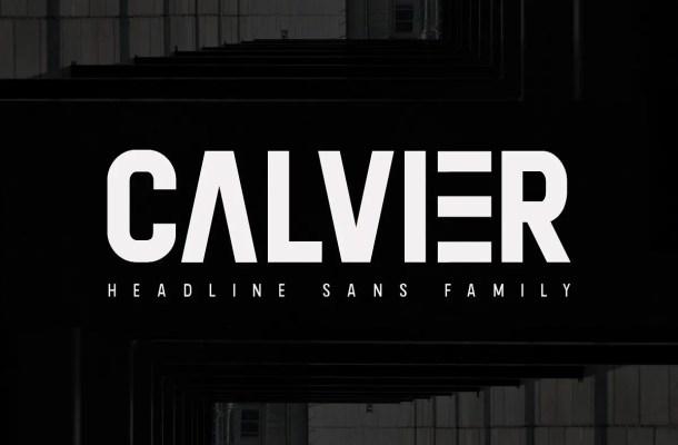 Calvier Sans Font Family Free