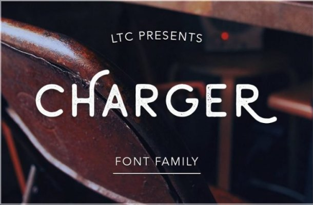 Charger Typeface Free