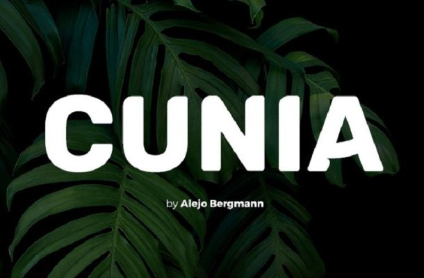 Cunia Typeface Free