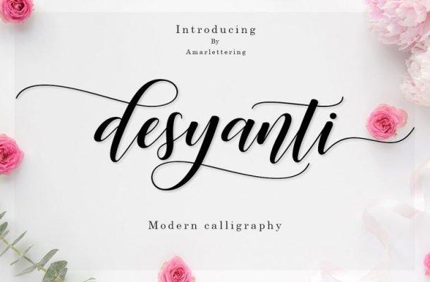 Desyanti Script Font Free