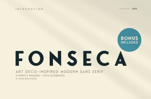 Fonseca Font Family Free