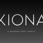 Kiona Font Family Free