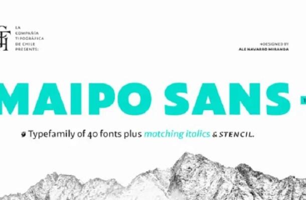Maipo Sans Font Family Free
