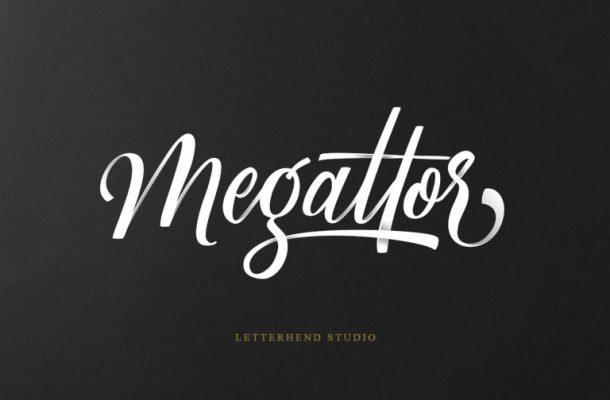 Megattor Script Font Free