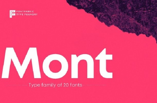 Mont Font Family Free