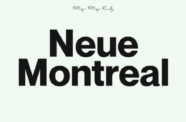 Neue Montreal Font Family Free