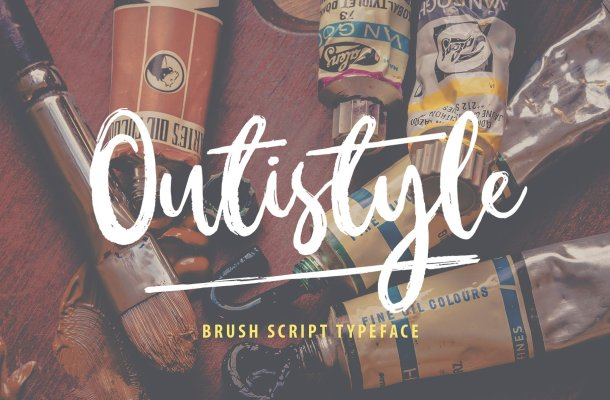 Outistyle Brush Font Free