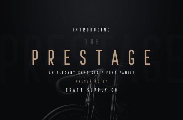 Prestage Font Family Free