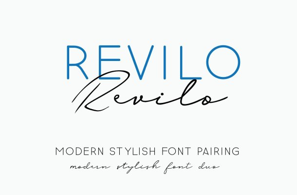 Revilo San Typeface Free