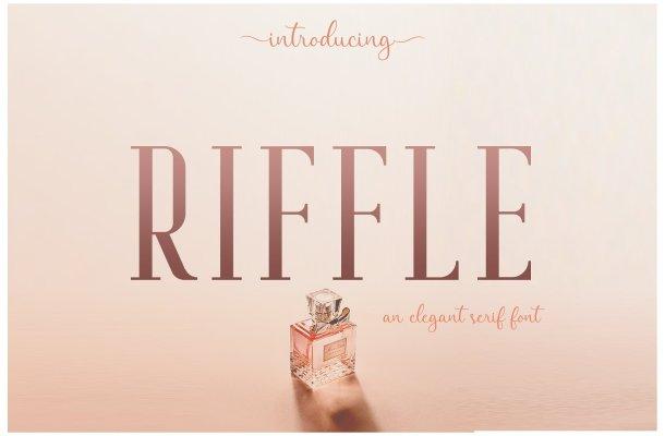 Riffle Typeface Free