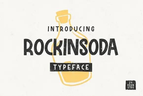 Rockinsoda Typeface Free