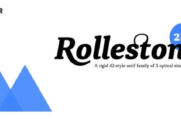 Rolleston Font Family Free