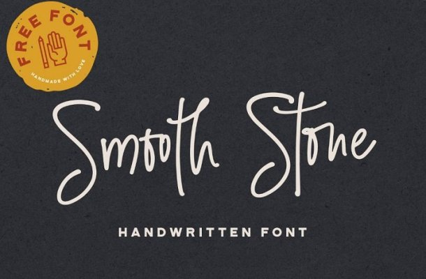 Smooth Stone Script Font Free