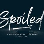 Spoiled Brush Font Free