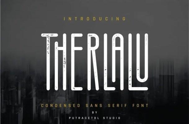 Therlalu Typeface Free
