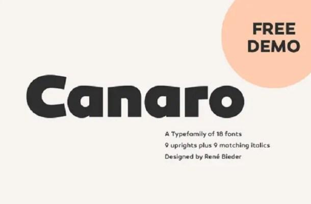 Canaro Free Demo