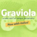 Graviola Typeface Free