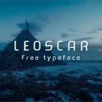 Leoscar font Free