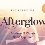 Afterglow Typeface Free