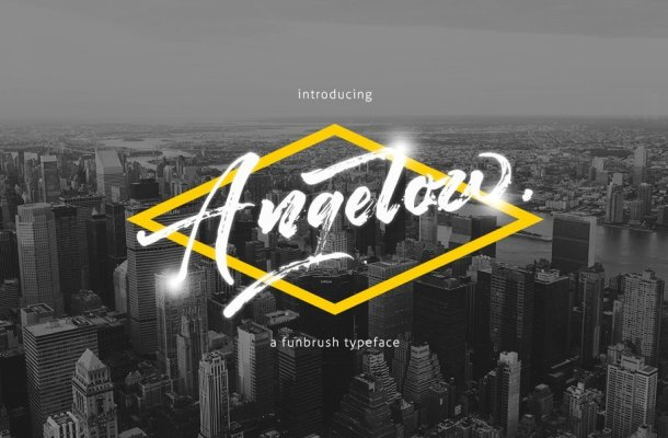 Angelow Typeface Free