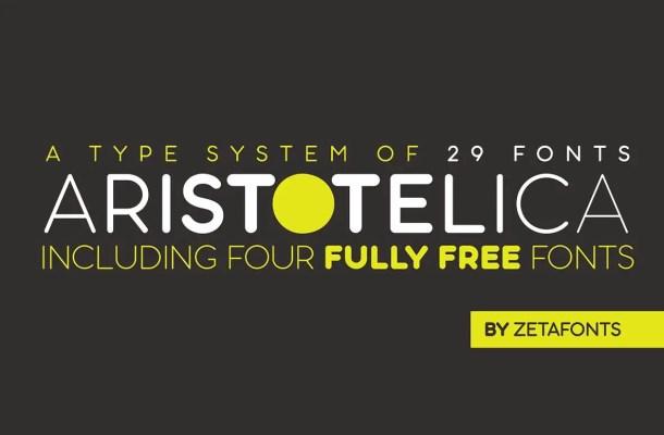 Aristotelica Font Family Free