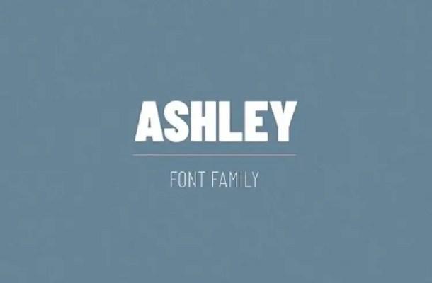 Ashley Font Family Free